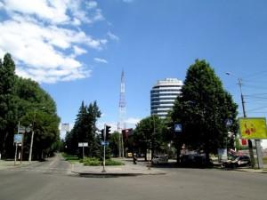 Первая городская радиовышка на проспекте Гагарина