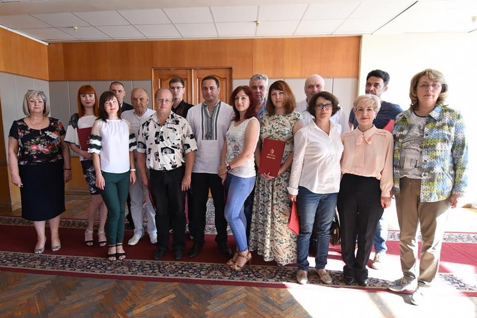 Міський голова зустрівся з журналістами Кам'янського