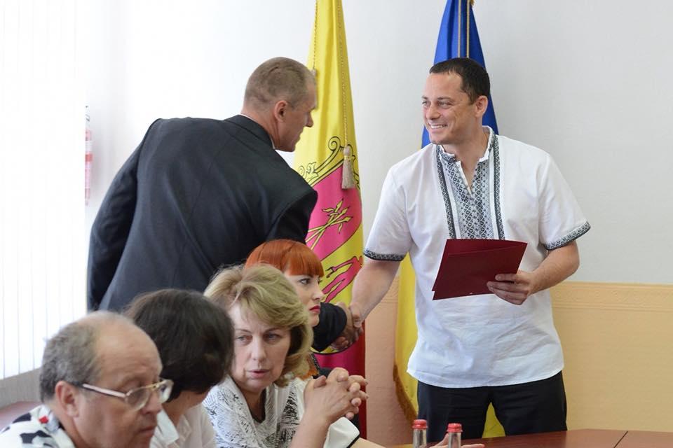 Міський голова зустрівся з журналістами Кам'янського_1