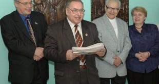 (зліва напрво) Вадим Климентьєв, Олександр Тараненко, Георгій Бурейко, Тетяна Колядинська (1)